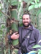 Juan Ignacio (Nacho) Areta, coauthor of the Birds of Bolivia Field Guide
